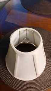 Selling a small cream color lamp shade , $3