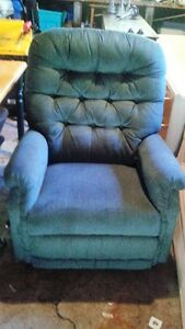 green recliner rocker