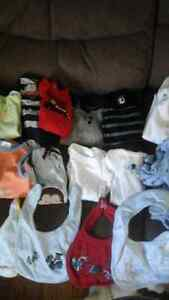 baby boy clothing size newborn and 0-3months old