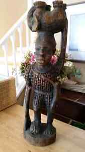 CARVED STATUE