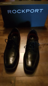 Men's Rockport Oxford Leather Dress Shoes.  Brand new.  $40.00
