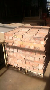 Reclaimed Authentic Clay Bricks - REDUCED