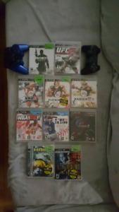 Used Ps3 - Games and 2 controls