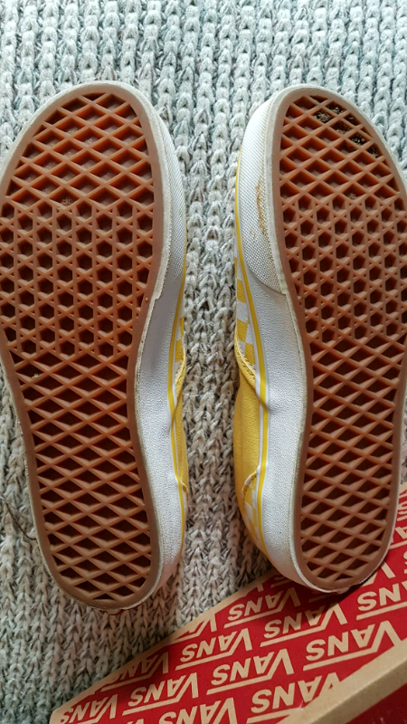 Retro Style Vans Trainers Sandshoes Sand Shoes Yellow Pumps Size 4 | in Barrhead, Glasgow | Gumtree