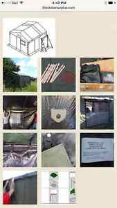 Military command post tent 11 X 11