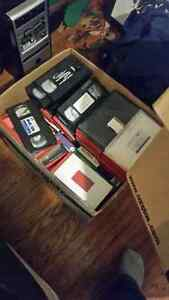 Box of VHS Tapes Absolutely FREE