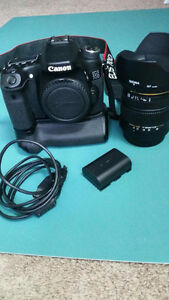 Canon 70d camera kit
