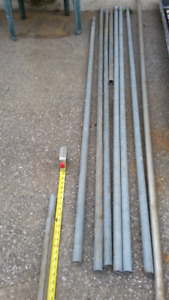 Top rails for chain link fence