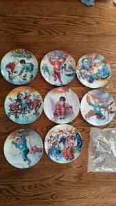 The Face-off collectors plate collection Peterborough Peterborough Area image 1