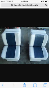 Looking for back to back boat seats or person to repair mine