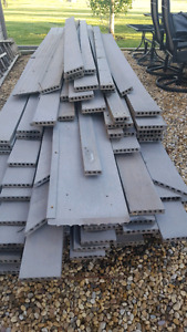 grey composite decking boards