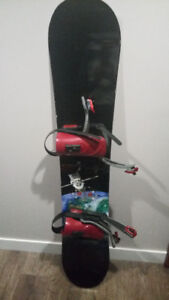 K2 Board (149 cm) & Bindings, Santa Cruz Boots Size 8.5