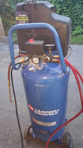 REDUCED ---- ONE YEAR OLD  -----AIR COMPRESSOR.-.