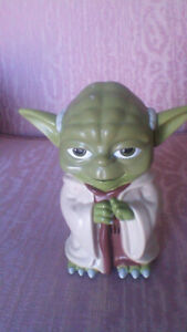 Authentic Star Wars  YODA Flashlight Figure with Sound Effects