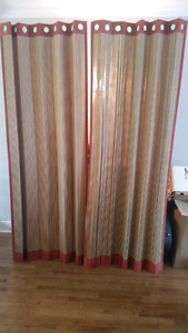 Rattan blinds for patio doors