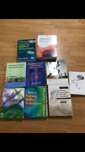 Nursing text books .. make an offer