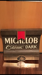 VINTAGE ADVERTISING MICHELOB BEER SIGN$45