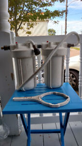 PORTABLE IN-LINE WATER PURIFICATION SYSTEM