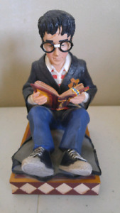 Harry potter bookend and bookmarks