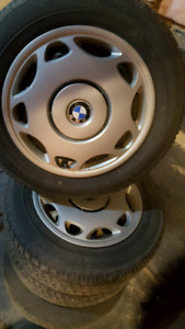 Bridgestone Blizzak winter tires 205/ 60/ 15