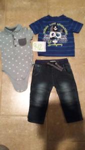 Vêtements garçon 9-12 mois