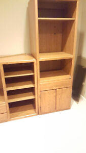 Free Solid Wood Wall Unit