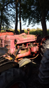 International Harvester W-6 and parts