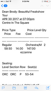 Dean Brody tickets & High Valley ( country)