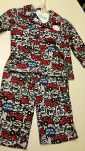 "12 to 18 Months..""Disney (2) piece pajamas.""  NEW WITH TAGS"