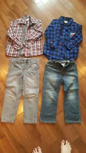 Lot vêtements garçon 4 ans