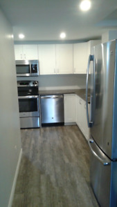 New 2 bdrm apartment in mid-town Kitchener available Sept. 1