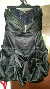 Size m-l 10-12 black dress worn once only $20