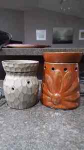Two Scentsy warmers