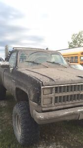 1986 Chevy mud truck