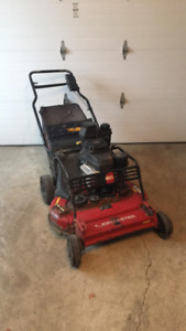"Toro 30"" commercial Turfmaster lawnmower with rear bag"