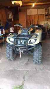 SOLD Yamaha grizzly 660