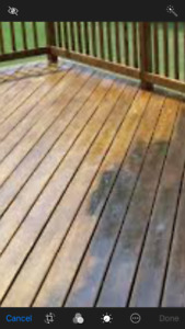 Pressure washing and yard maintenance services