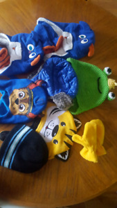 Toddler toques, some with gloves. (Boys)