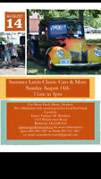 Vendors Needed 2 year Car Show Summer Lovin Classic Cars & More