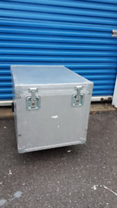 Clydesdale Rolling road cases. on castors (wheels)