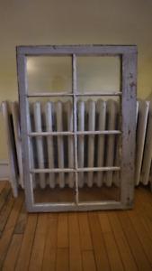 Antique Wood Window Stile