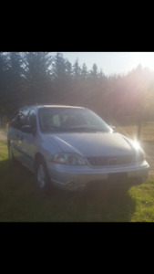 2003 Ford Windstar and Camping stuff