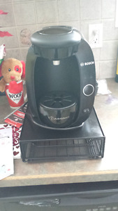Tassimo Coffee Maker with Drawer for Pods
