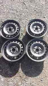 4 steel wheels 15 in 5 x 112 bolt pattern