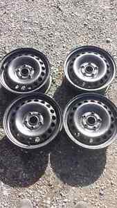 4 steel wheels 15 in 5 x 112 bolt pattern