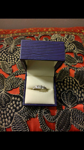 (15 Diamonds) Engagement Ring with Appraisal ($3280)