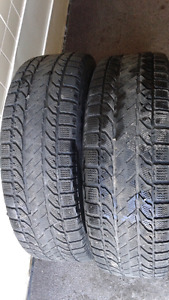 2-BF Goodrich winter tires. 225/65R17. $80. call 819-230-9767