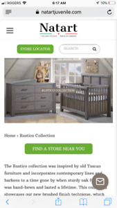 Baby furniture - Natart- made in Canada