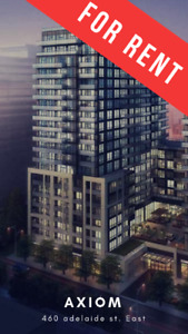 Downtown Condo For Rent at 460 Adelaide East - Axiom Condos