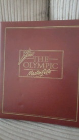 Olympic stamp book